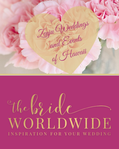 WEDDING PLANNING ADVICE FROM ZENJU WEDDINGS AND EVENTS OF HAWAII
